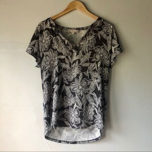 2/$15 Loft Floral Blouse Size Small NWT
